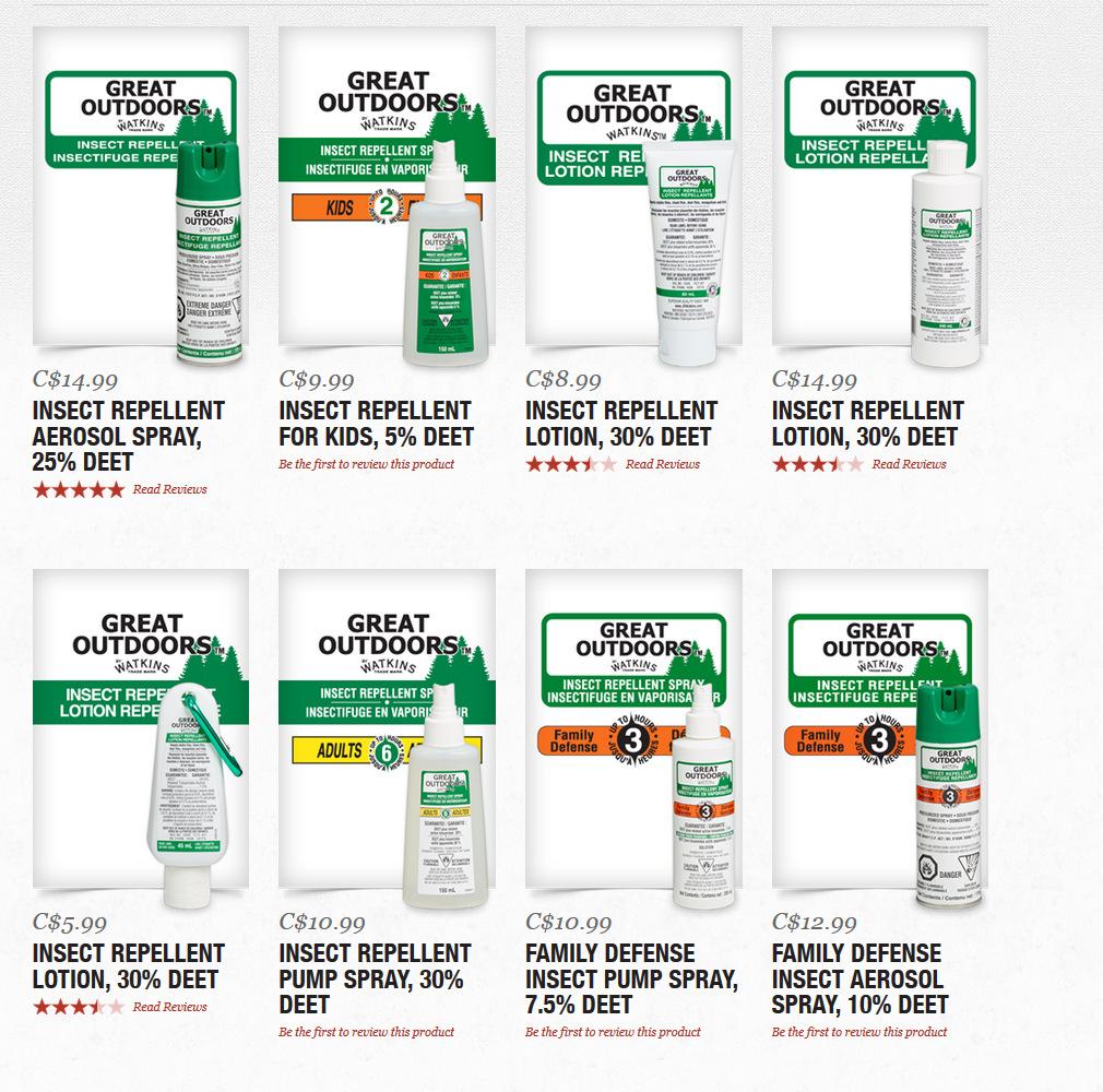JR Watkins Insect Repellent