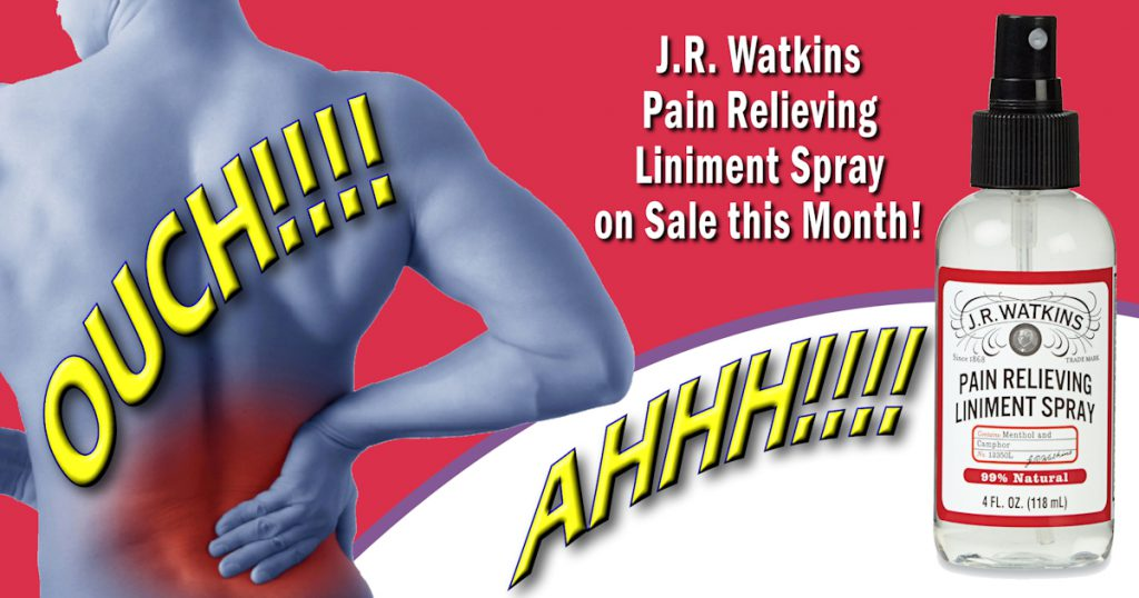 JR Watkins Pain Spray